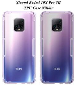 محافظ ژلهای شیائومی Redmi 10X Pro 5G مارك نیلكین