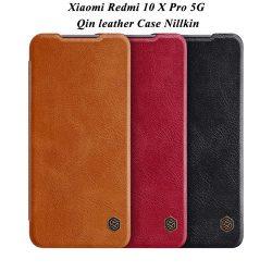 کیف چرمی شیائومی Redmi 10X Pro 5G مارک نیلکین