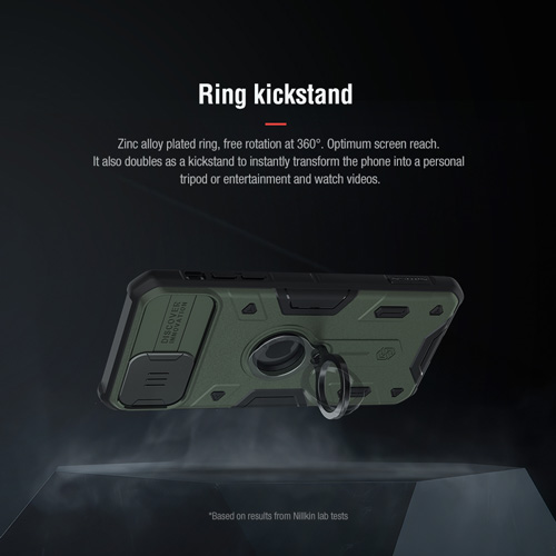گارد رینگی نیلکین iPhone 11 Pro مدل Camshield Armor
