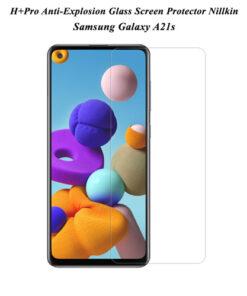 گلس سامسونگ Galaxy A21s مارک H+Pro نیلکین