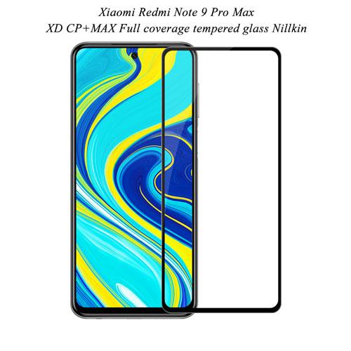گلس نیلکین شیائومی Redmi Note 9 Pro Max مدل XD CP+MAX