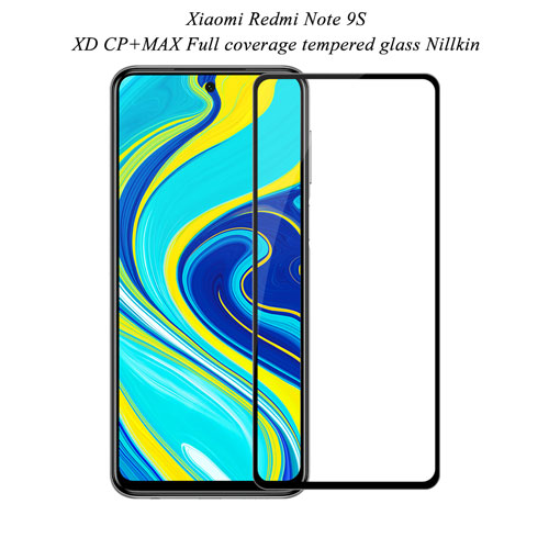 گلس نیلکین شیائومی Redmi Note 9S مدل XD CP+MAX