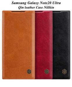 کیف چرمی سامسونگ Galaxy Note20 Ultra مارک نیلکین