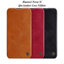 کیف چرمی هوآوی نوا Huawei Nova 5i مارک نیلکین