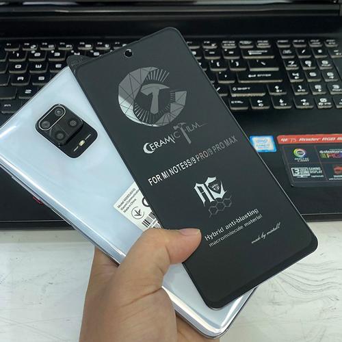 گلس سرامیکی مات شیائومی Redmi Note 9 Pro Max