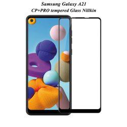 گلس نیلکین سامسونگ Galaxy A21 مدل CP+Pro