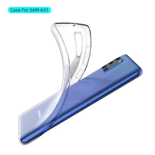 قاب ژله ای شفاف سامسونگ Galaxy A31