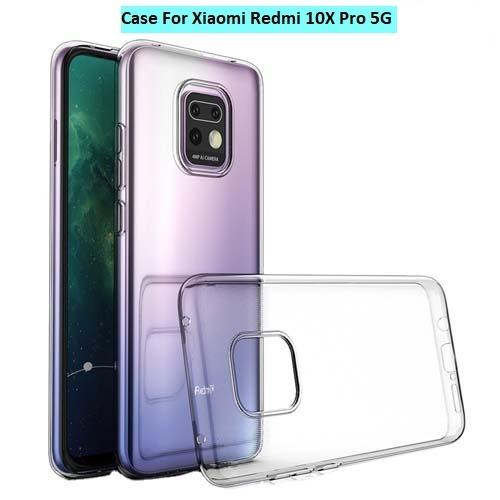 قاب ژله ای شفاف شیائومی Redmi 10X Pro 5G