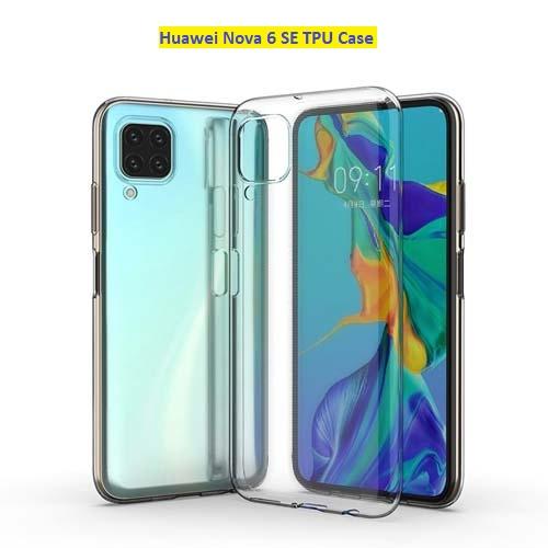 قاب ژله ای شفاف هوآوی Huawei Nova 6 SE
