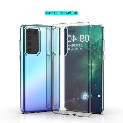 قاب ژله ای شفاف هوآوی Huawei P40