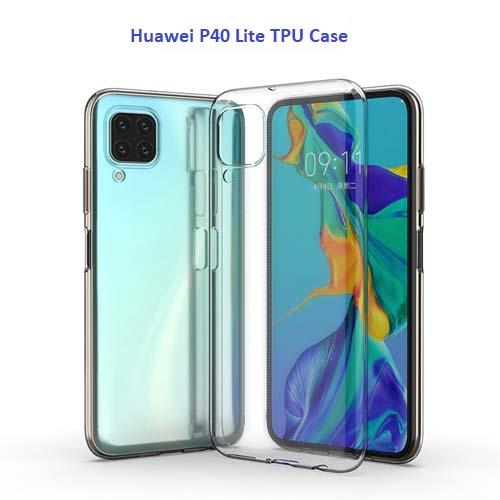قاب ژله ای شفاف هوآوی Huawei P40 Lite