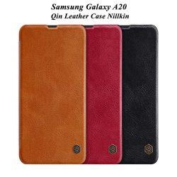 کیف چرمی سامسونگ Galaxy A20 مارک نیلکین
