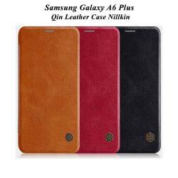 کیف چرمی سامسونگ Galaxy A6 Plus مارک نیلکین
