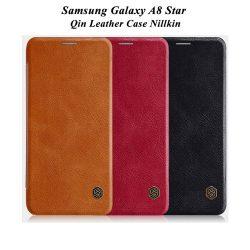 کیف چرمی سامسونگ Galaxy A8 Star مارک نیلکین