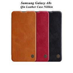 کیف چرمی سامسونگ Galaxy A8s مارک نیلکین