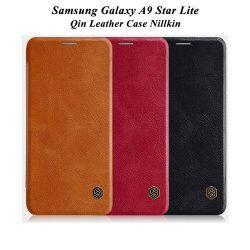 کیف چرمی سامسونگ Galaxy A9 Star Lite مارک نیلکین