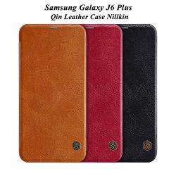 کیف چرمی سامسونگ Galaxy J6 Plus مارک نیلکین