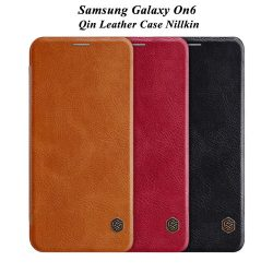 کیف چرمی سامسونگ Galaxy On6 مارک نیلکین