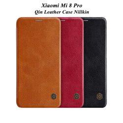 کیف چرمی شیائومی Xiaomi Mi 8 Pro مارک نیلکین