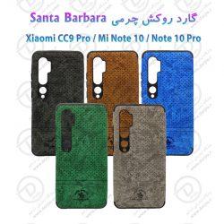 گارد روکش چرمی شیائومی Mi Note 10 / Mi Note 10 / Mi CC9 Pro مارک Santa Barbara
