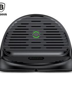 شارژر وایرلس هولدر رومیزی بیسوس Silicone Wireless Charger