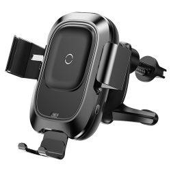 پایه نگهدارنده هوشمند و شارژر بی سیم خودرو بیسوس Smart Vehicle Bracket