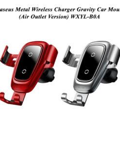 پایه نگهدارنده و شارژر وایرلس خودرو بیسوس WXYL-B0A
