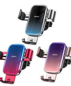 پایه نگهدارنده گوشی بیسوس Baseus Glaze Gravity Car Mount
