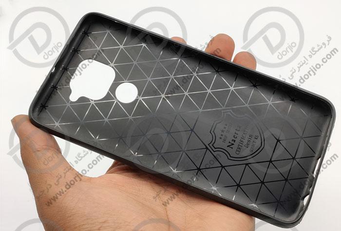 گارد ژلهای طرح چرم شیائومی Xiaomi Redmi Note 9