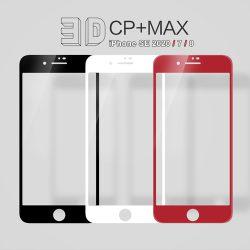 گلس نیلکین اپل iPhone SE 2020 مدل 3D CP+MAX