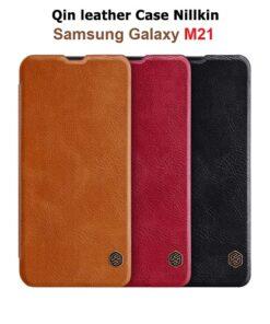 کیف چرمی سامسونگ Galaxy M21 مارک نیلکین