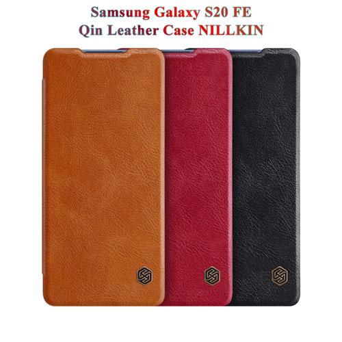 کیف چرمی سامسونگ Galaxy S20 FE مارک نیلکین