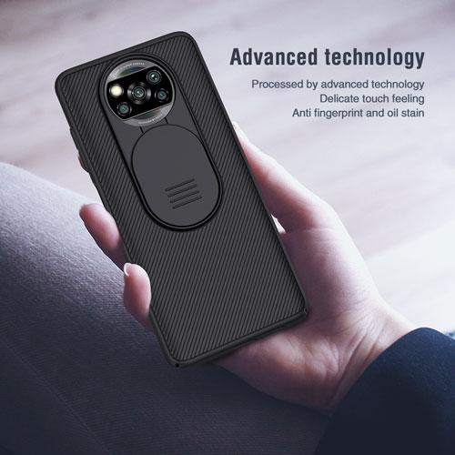 """""""گارد نیلکین شیائومی Poco X3 NFC مدل CamShield"""