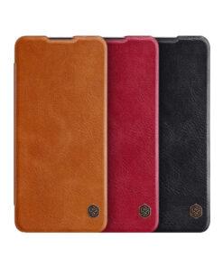 کیف چرمی وان پلاس OnePlus 8T مارک نیلکین Qin