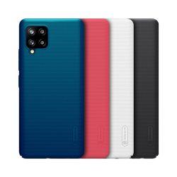 قاب محافظ سامسونگ Galaxy A42 5G مارک نیلکین + استند