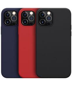 کاور سیلیکونی مغناطیسی iPhone 12 Pro Max مدل Flex Pure Pro نیلکین