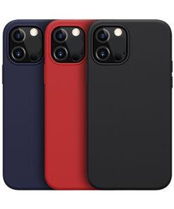 کاور سیلیکونی مغناطیسی iPhone 12 مدل Flex Pure Pro نیلکین