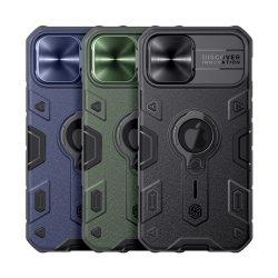 گارد رینگی نیلکین iPhone 12 Pro Max مدل CamShield Armor LOGO