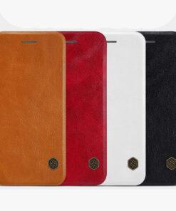 کیف چرمی نیلکین iPhone SE 2020 مدل Qin