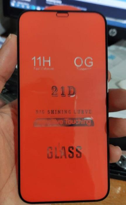 گلس فول گوشی آیفون 12 پرو مکس مدل 21D