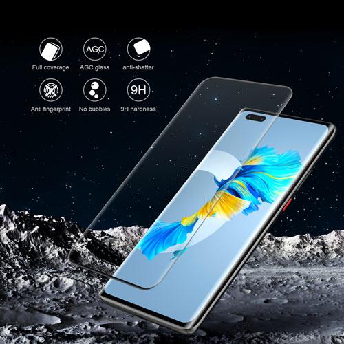گلس فول نیلکین گوشی هوآوی Mate 40 Pro Plus مدل 3D CP+MAX