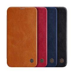 کیف چرمی نیلکین اپل iPhone 12 Pro مدل Qin