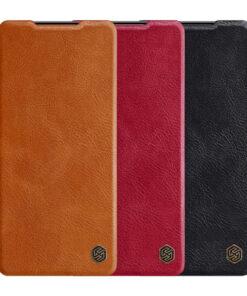 کیف چرمی سامسونگ Galaxy S21 مارک نیلکین