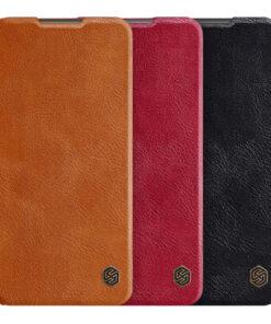 کیف چرمی شیائومی Redmi Note 9 4G مارک نیلکین