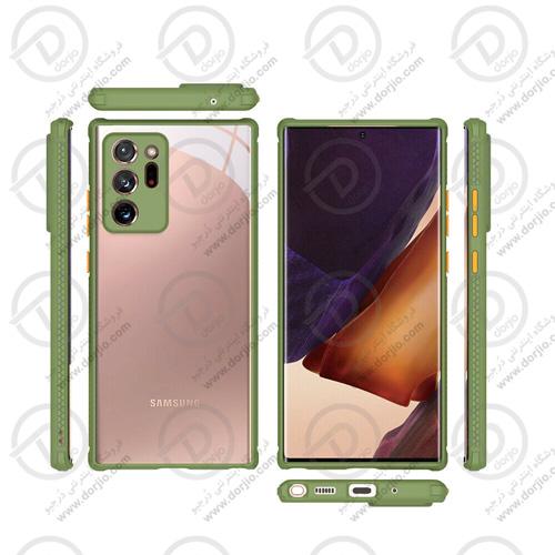 پلکسی کاور شفاف با محافظ دوربین گلکسی Note20 Ultra