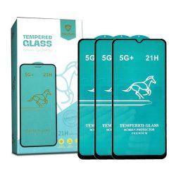 محافظ صفحه نمایش شیشهای گلکسی A12 مدل 5G+ _ 21H