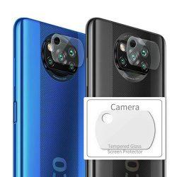 محافظ لنز دوربین شیشه ای شیائومی Poco X3 NFC