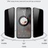 گلس محافظ Privacy مارک لیتو iPhone 12 Mini