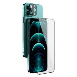 گلس تمام صفحه و محافظ لنز نیلکین iPhone 12 Pro