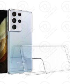قاب ژله ای شفاف گوشی سامسونگ Galaxy S21 Ultra